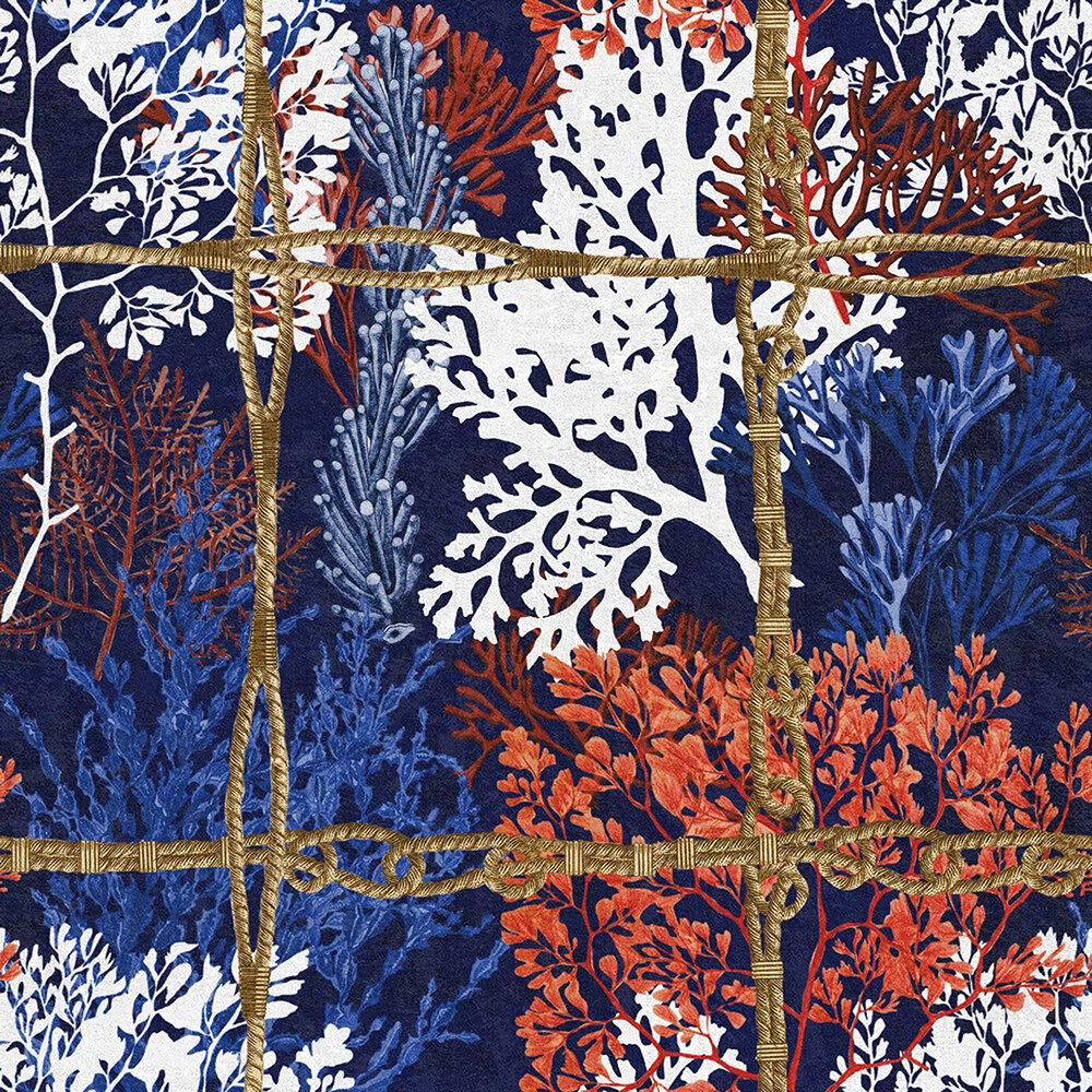 Corallia Mural - Dark - by Mind the Gap