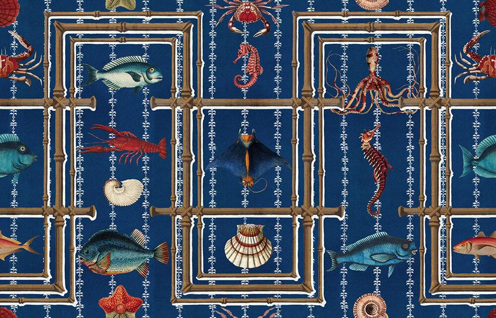 Underwater Life Mural - Seaside - by Mind the Gap