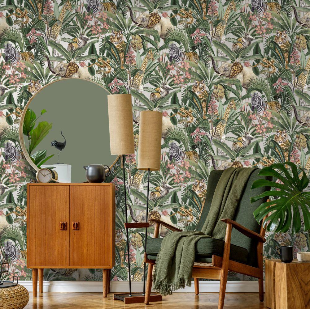 Serengeti Wallpaper - Gilver - by Albany