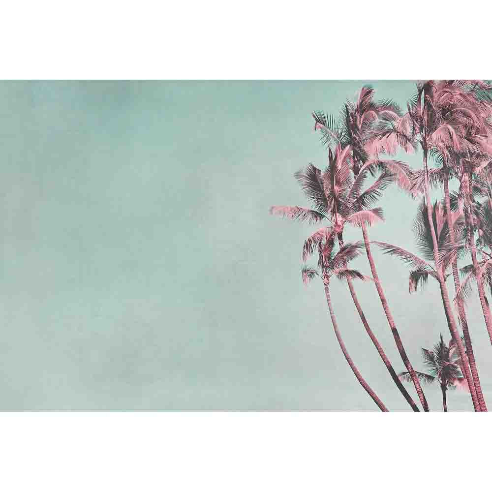 Tropical Breeze Mural - Teal - by ARTist