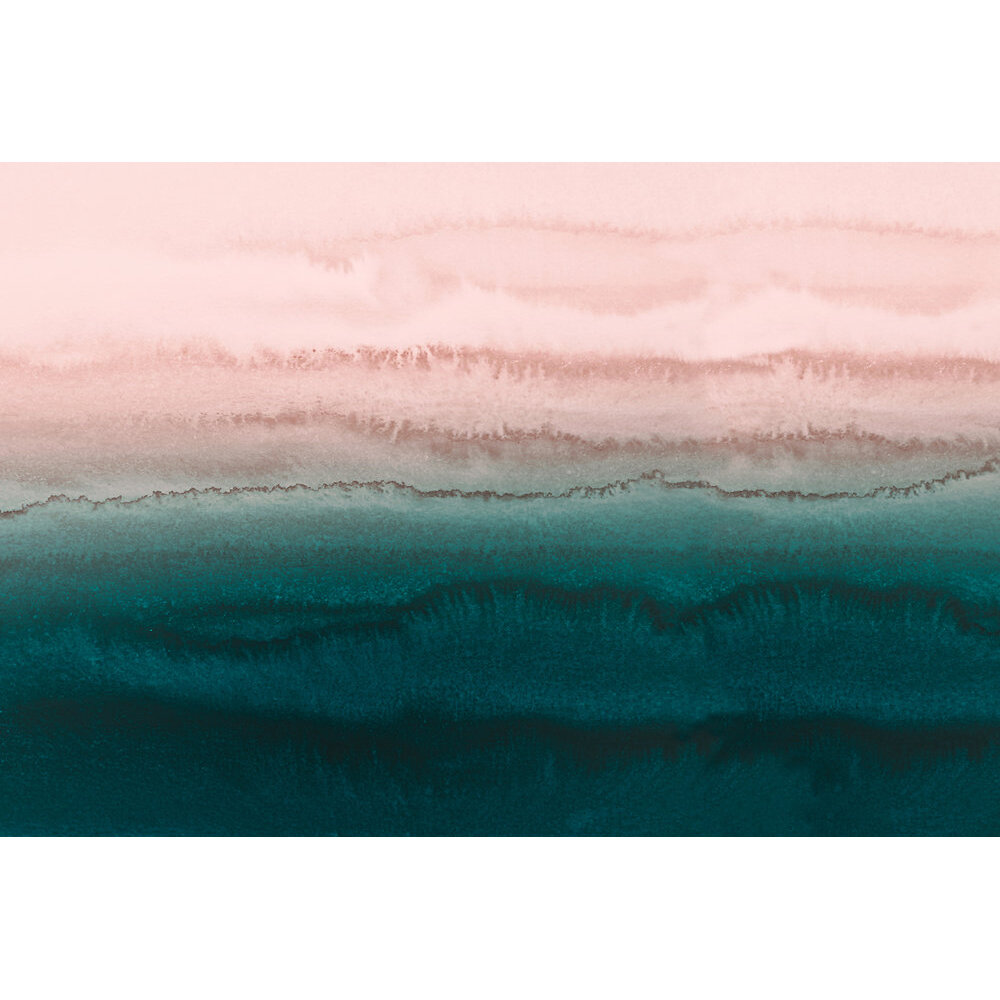 Within the Tide Mural - Pink/Green - by ARTist