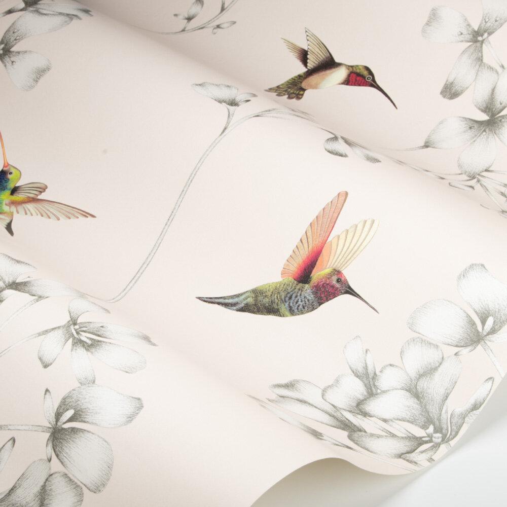 Amazilia Wallpaper - Powder/Pearl - by Harlequin