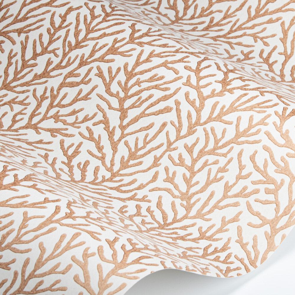 Atoll Wallpaper - Bronze/Sailcloth - by Harlequin
