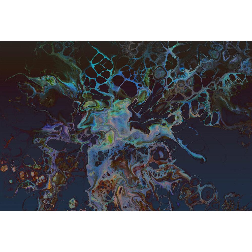 Acryl Mural - Blue - by ARTist