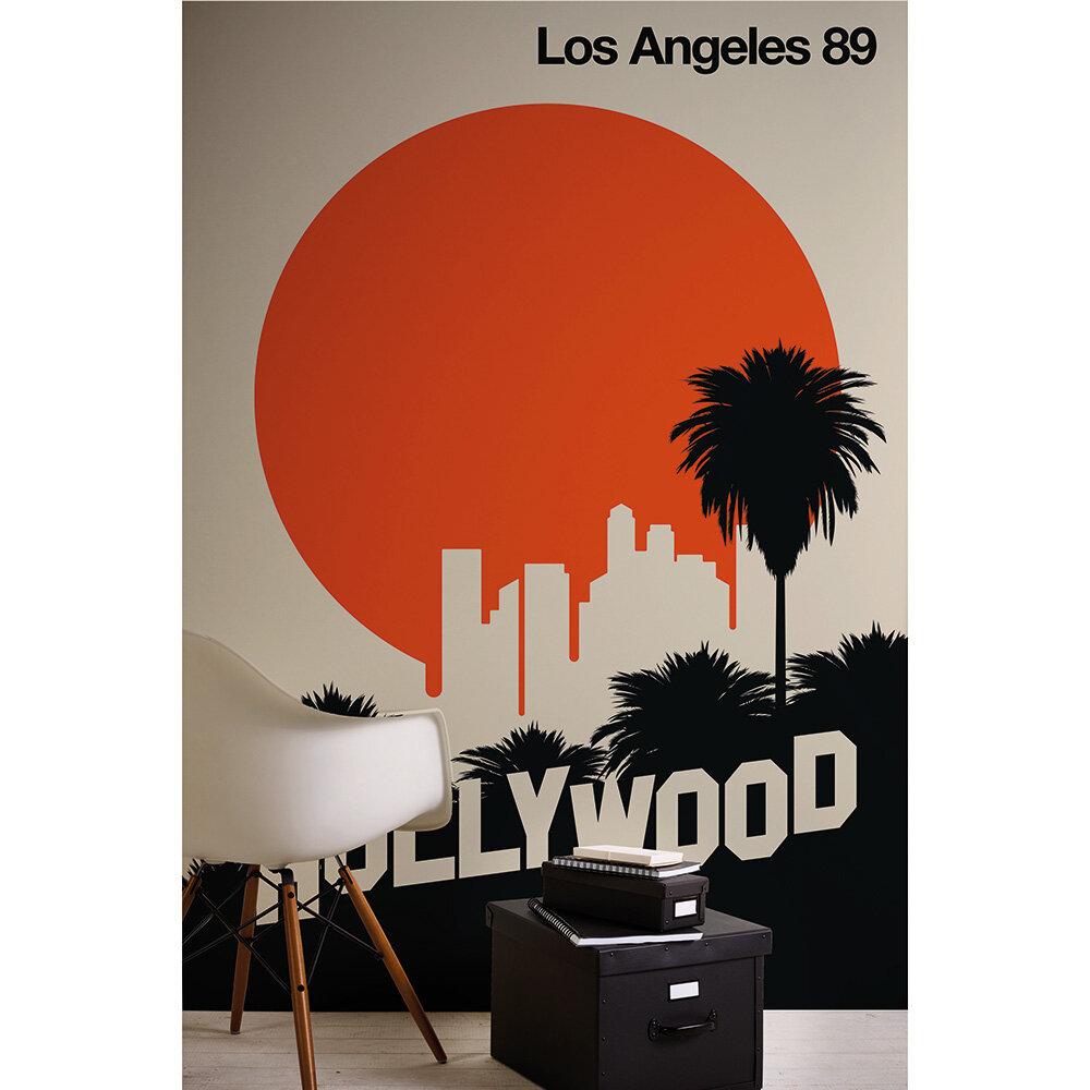 Los Angeles 89 Mural - Multi - by ARTist