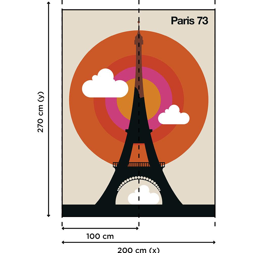 Paris 73 Mural - Multi - by ARTist