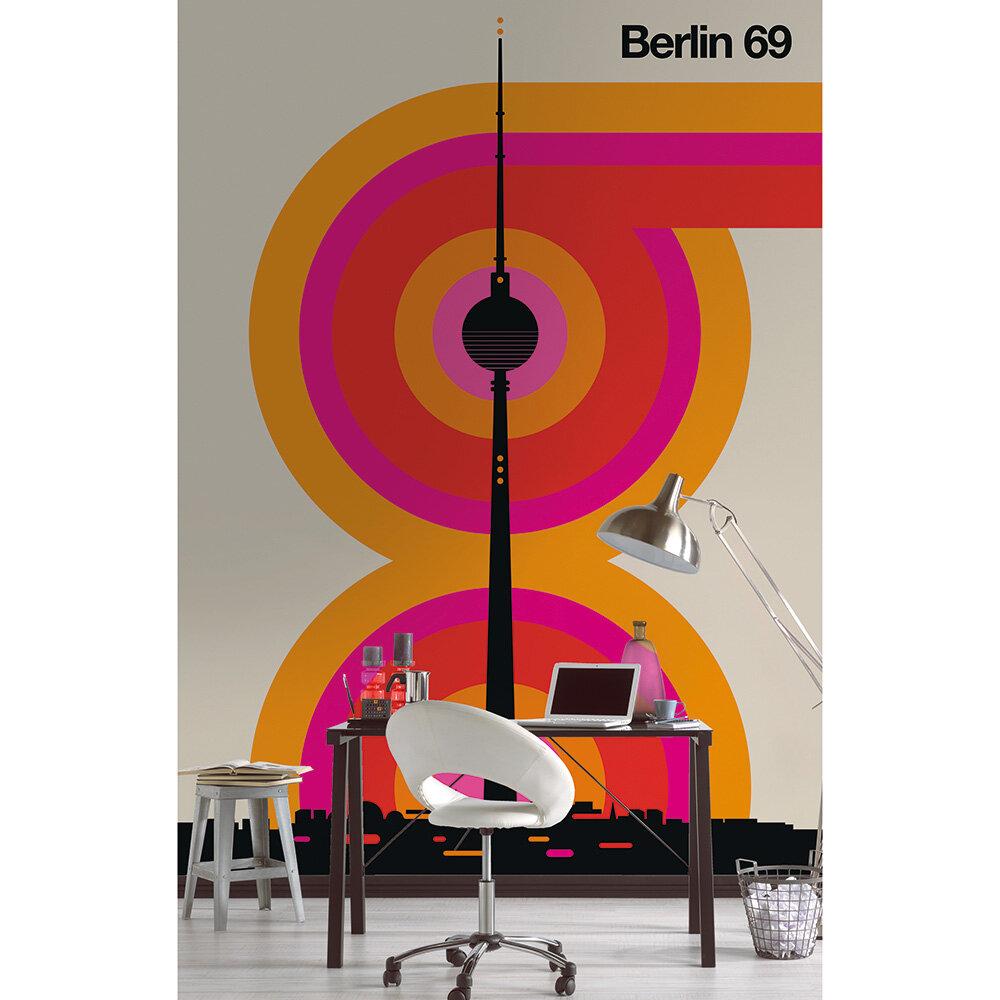 Berlin 69 Mural - Multi - by ARTist
