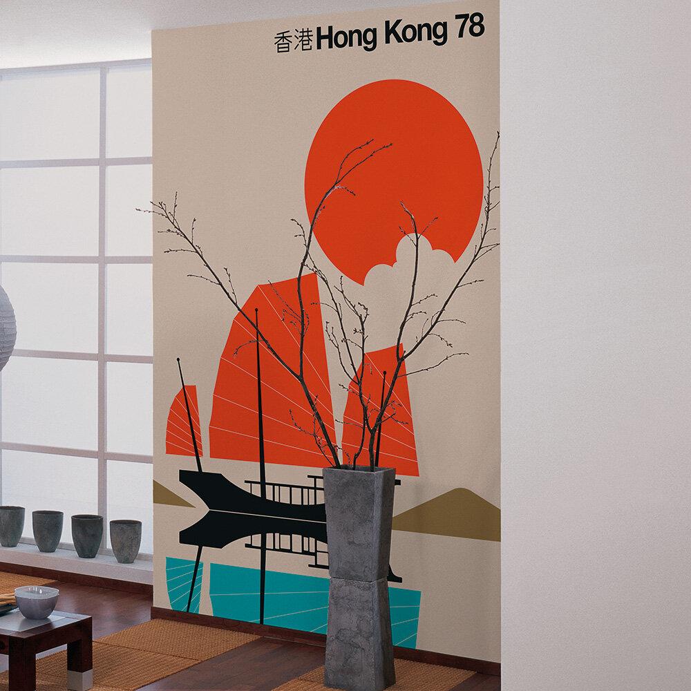 Hong Kong 78 Mural - Multi - by ARTist