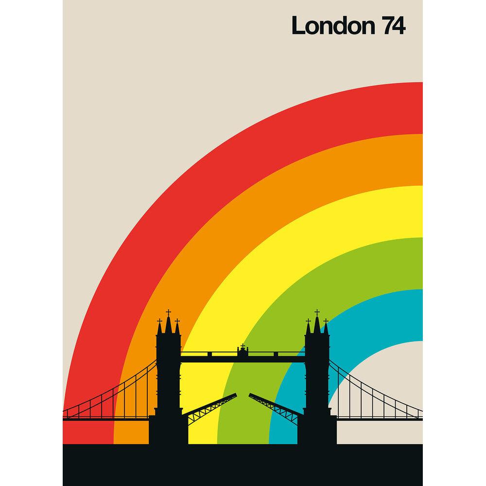 London 74 Mural - Multi - by ARTist