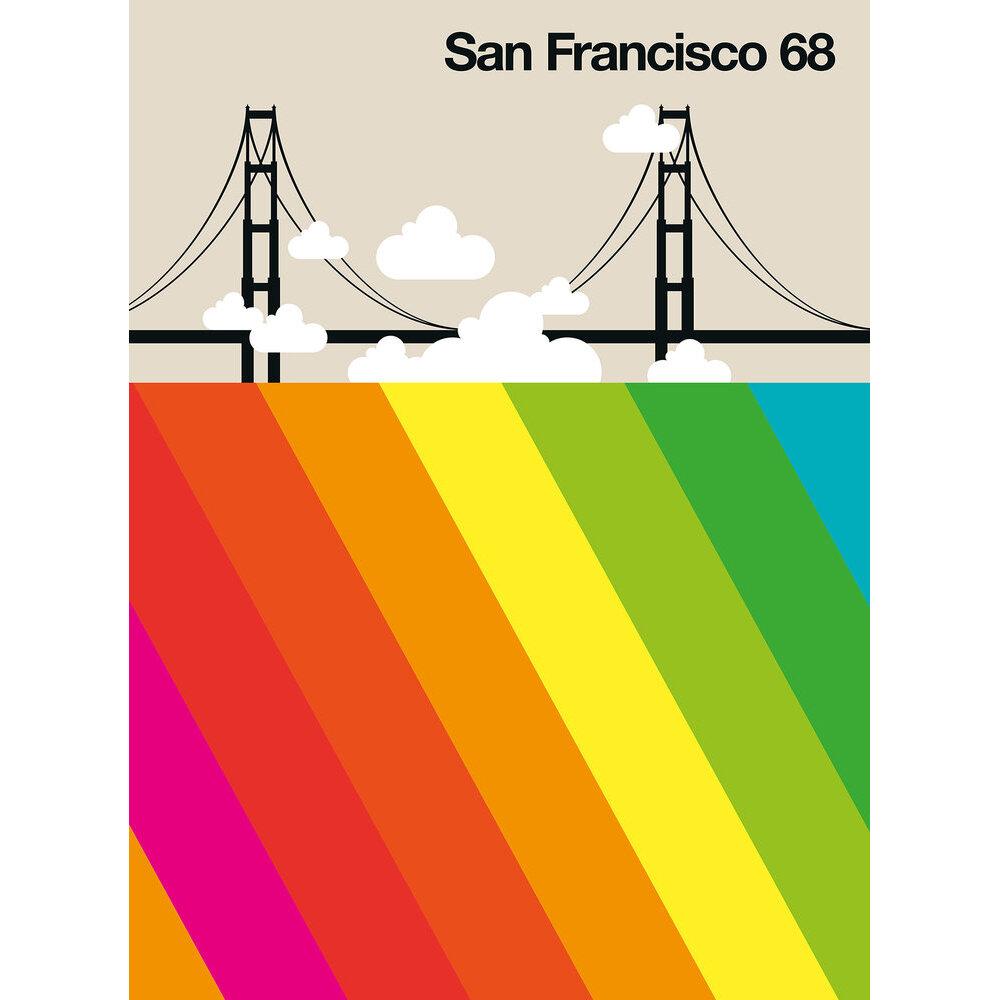San Francisco 68 Mural - Multi - by ARTist