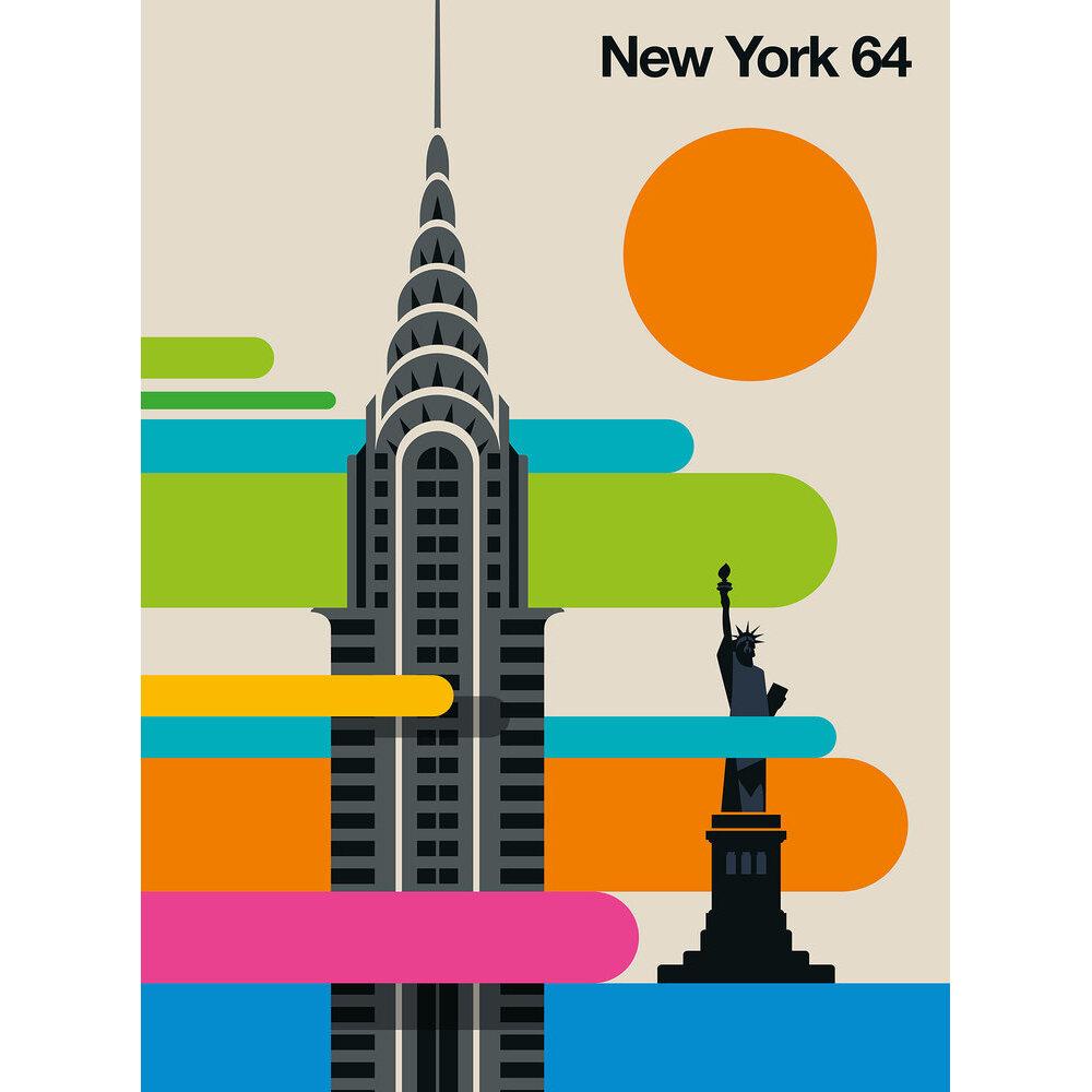 New York 64 Mural - Multi - by ARTist