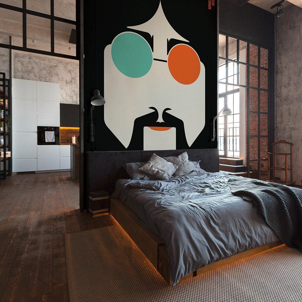 Lennon Mural - Multi - by ARTist