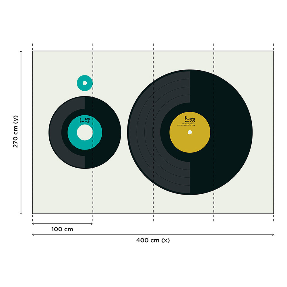 LP vs. EP      Mural - Multi - by ARTist
