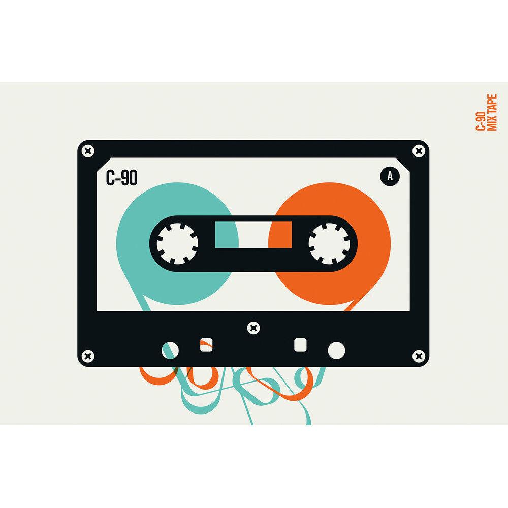 Mixtape  Mural - Multi - by ARTist