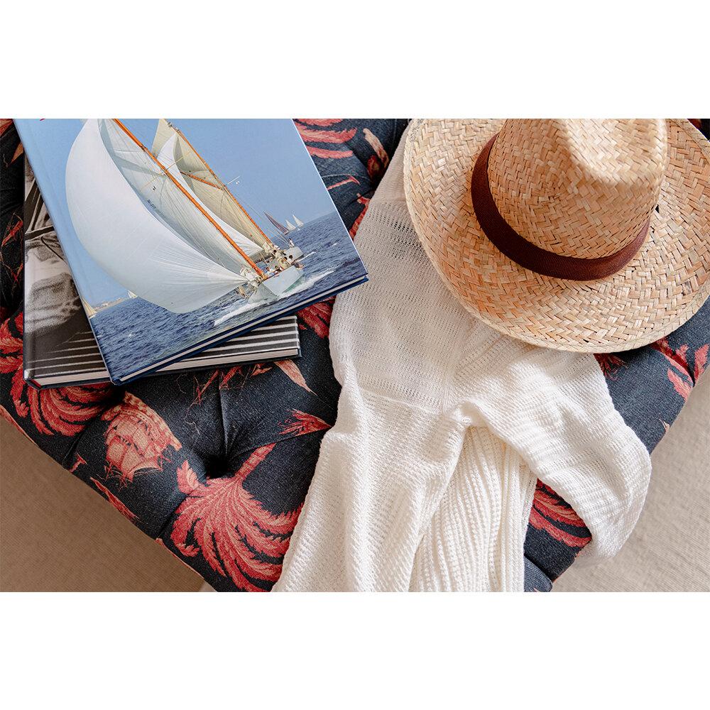 Aegean Fabric - Indigo - by Mind the Gap