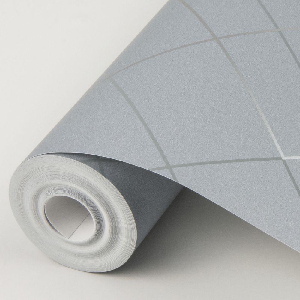 Ballard Wallpaper - Dove Grey - by A Street Prints