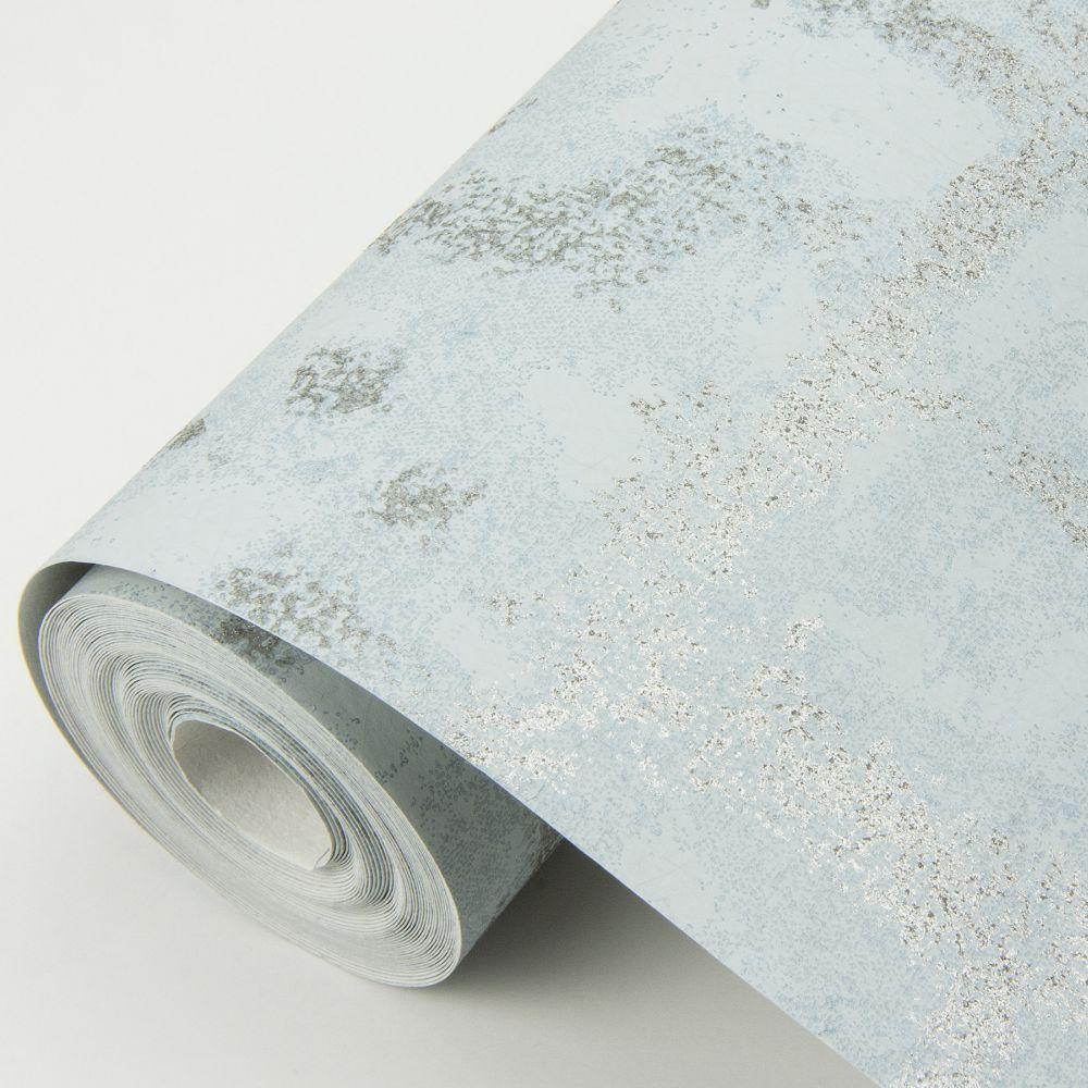 Shea Wallpaper - Blue - by A Street Prints