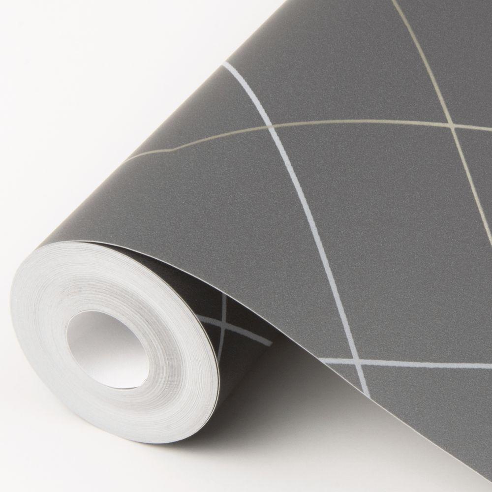 Ballard Wallpaper - Grey - by A Street Prints