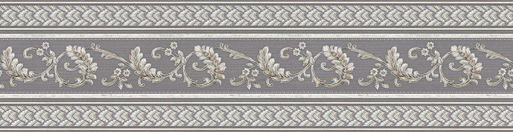 Royal Leaf Border - Silver - by Albany