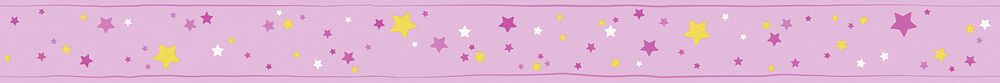Star Border - Pink - by Albany