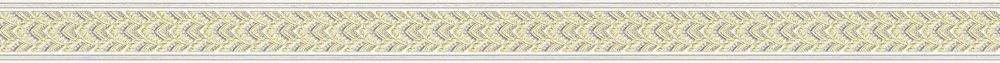 Fancy Damask Border - Taupe - by Albany