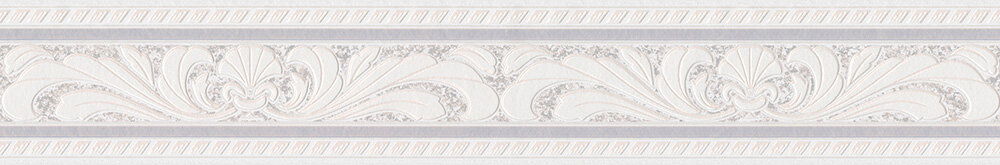 Textured Fan Border - Ivory - by Albany