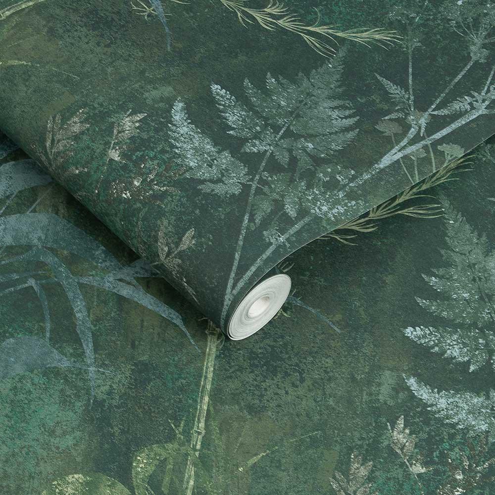 Restore Wallpaper - Emerald - by Graham & Brown