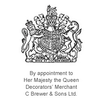 The Royal Warrant for the supply of decorating materials to Her Majesty the Queen