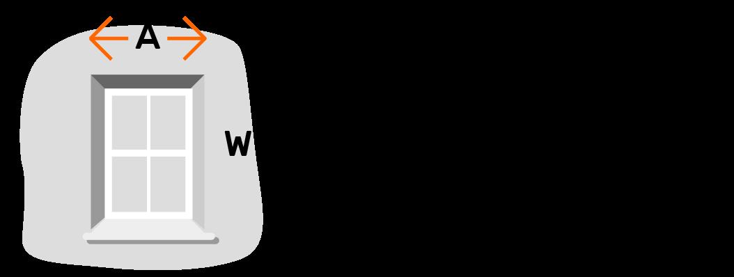 Measuring width of window